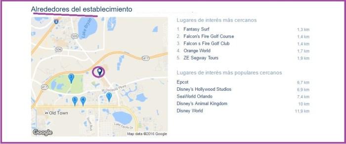 Holiday Inn Express & Suites Lk Buena Vista South mapa