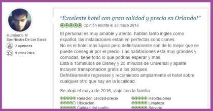 Lake Buena Vista Resort Village and Spa, a staySky Hotel & Resort Opiniones Viajeros 9