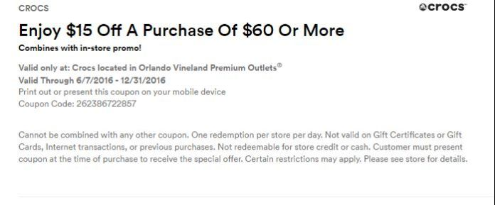 Orlando Vineland Premium Outlet septiembre 2016 .4