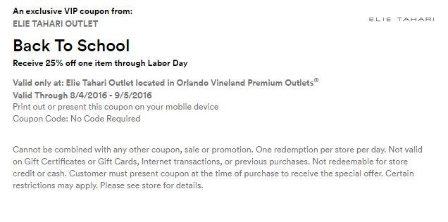 Orlando Vineland Premium Outlet septiembre 2016 .5