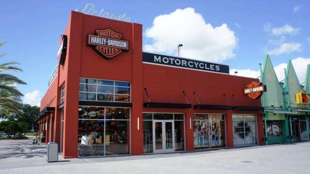 New Downtown Disney Harley-Davidson Store - July 2011.