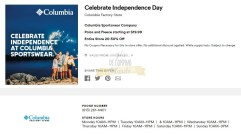 Cupones Premium Outlets 4th of July 2