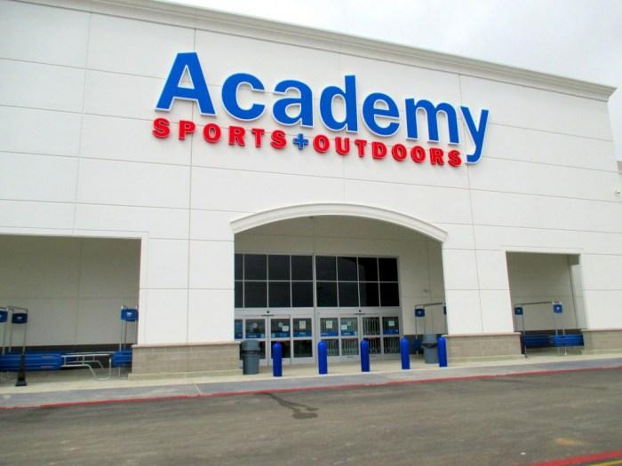 Academy Sports puerta