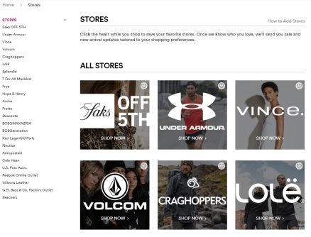 Now Shop Outlets Online 3