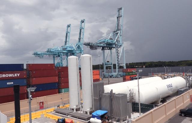 Inauguran nueva planta de GNL en Jacksonville