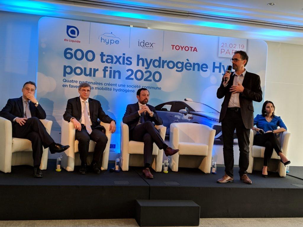 Crean alianza para impulsar la movilidad H2 en París