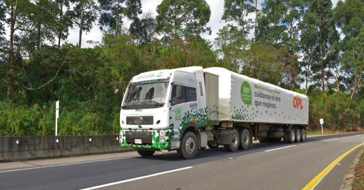 En 2019 Colombia tendrá más de 100 tractocamiones a gas natural