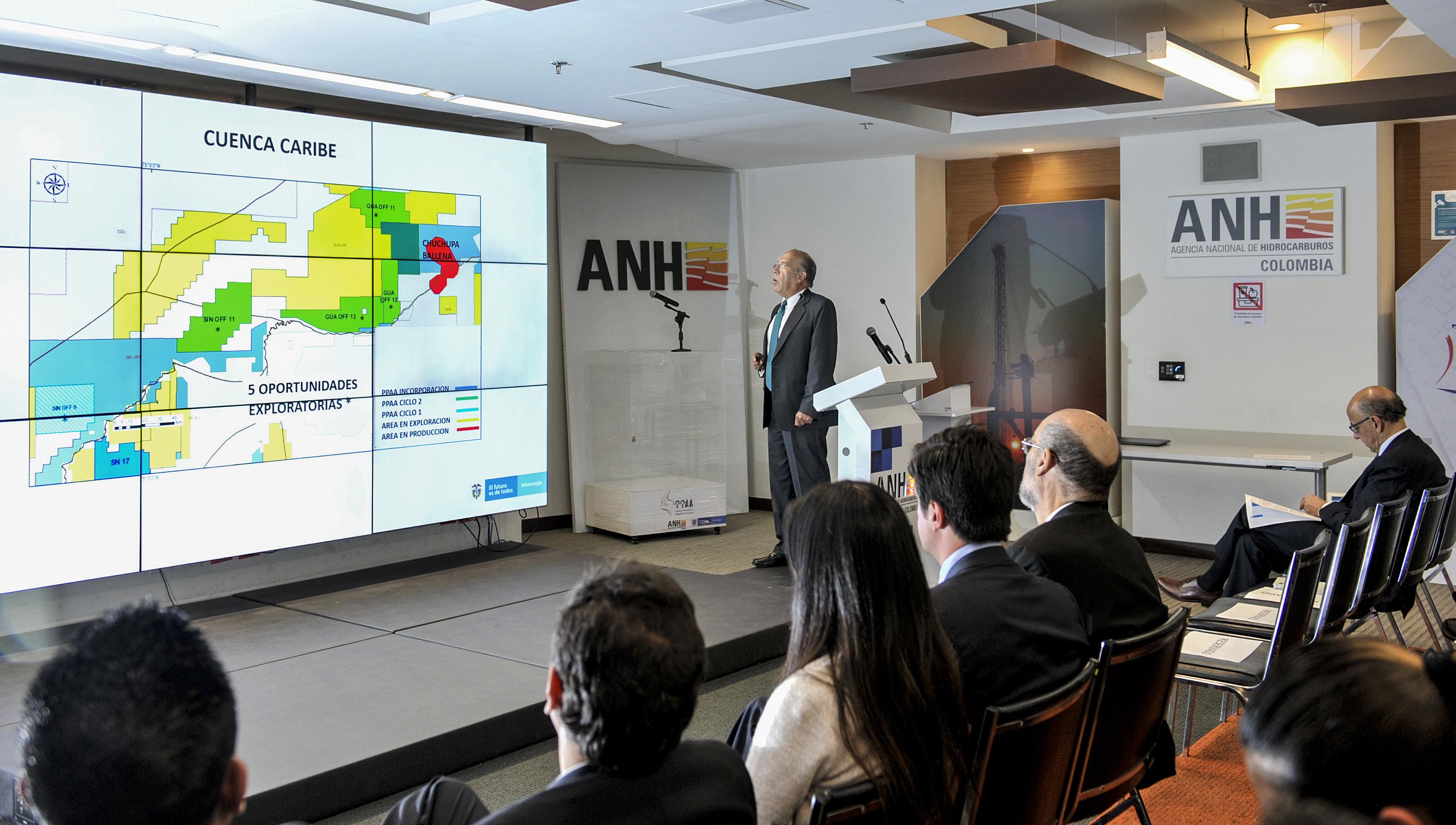 Colombia: La ANH oferta 59 áreas petroleras para la segunda subasta de 2019