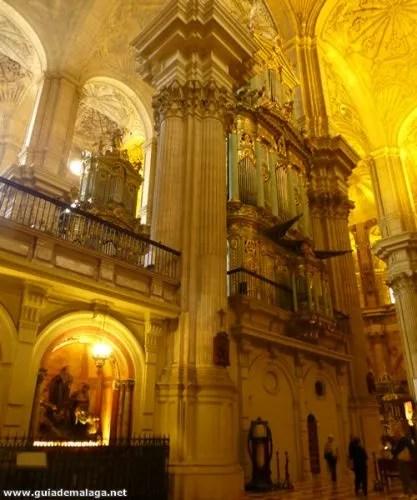 Organo de la Catedral Málaga.