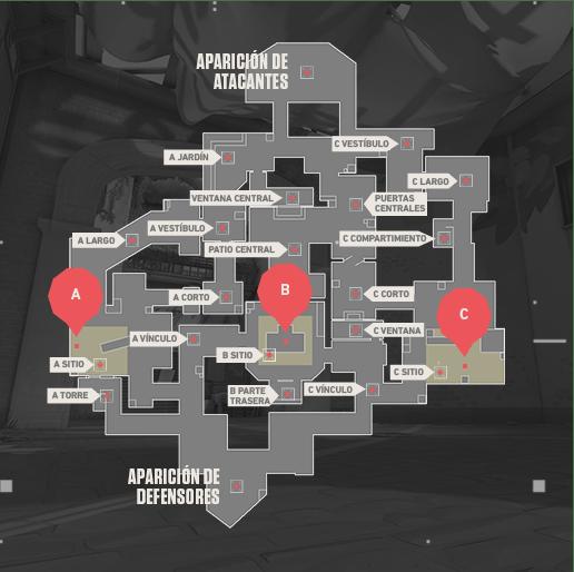 Mapa HAVEN Valorant