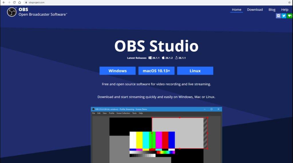 Cómo descargar OBS Studio