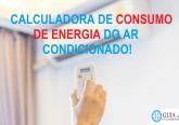 CALCULADORA DE CONSUMO DE ENERGIA DO MINI SPLIT