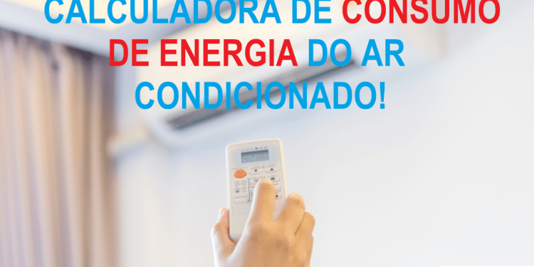 CALCULADORA DE CONSUMO DE ENERGIA DO MINI SPLIT