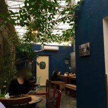 Terraço interior do Sofá Café