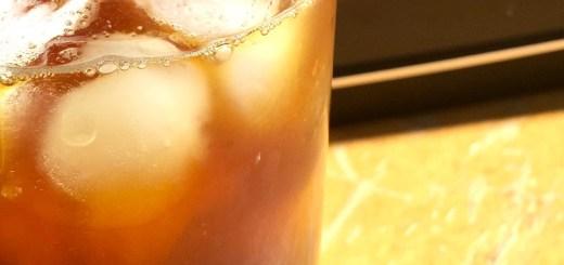 Café gelado com frutas cítricas feito na Clever