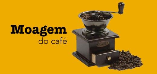 Moagem do café gourmet
