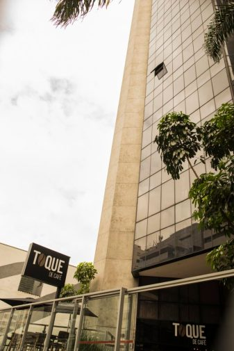 Fachada da cafeteria Toque de Café. Foto: Marcelo Araújo