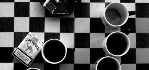 Café e cigarro