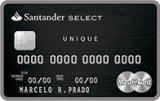 Santander Unique Mastercard Black e Visa Infinite