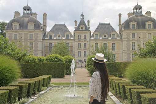 Entrada do Castelo de Chambord
