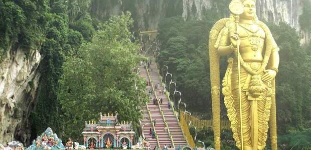 Visita a Batu Caves a partir de Kuala Lumpur