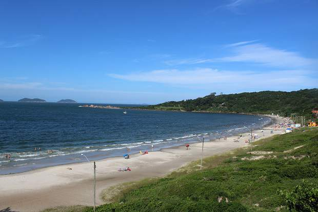 Melhores praias do Brasil: Palhoça - Praia da Pinheira - Santa Catarina