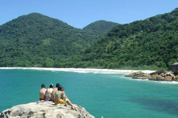 Melhores praias do Brasil: Paraty - Trindade - Praia do Meio - Rio de Janeiro