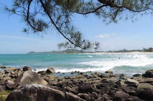Melhores praias do Brasil: Garopaba - Praia da Ferrugem - Santa Catarina