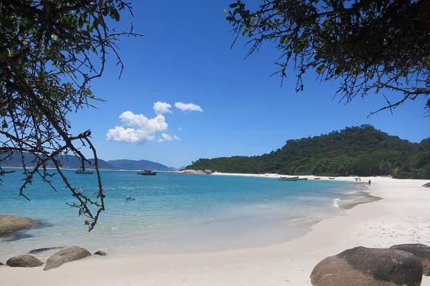 Melhores praias do Brasil: Florianópolis - Ilha do Campeche - Santa Catarina