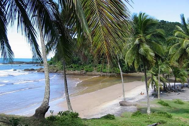 Melhores praias do Brasil: Itacaré - Praia da Engenhoca - Bahia