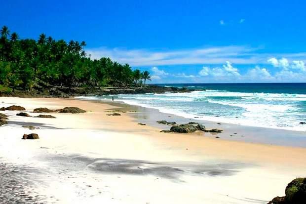 Melhores praias do Brasil: Itacaré - Praia de Jeribucaçu - Bahia