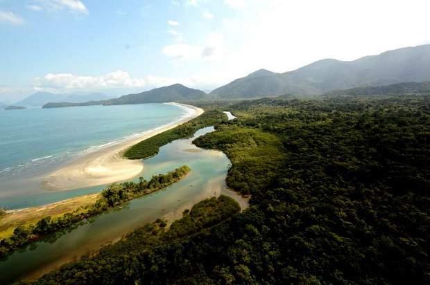 Melhores praias do Brasil: Ubatuba - Praia da Fazenda - São Paulo