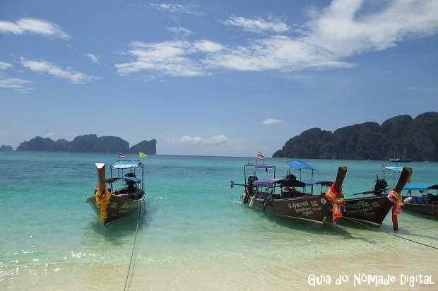 Como chegar a Koh Phi Phi, na Tailândia?