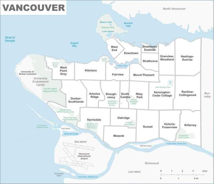 Onde ficar em Vancouver: bairros de Vancouver