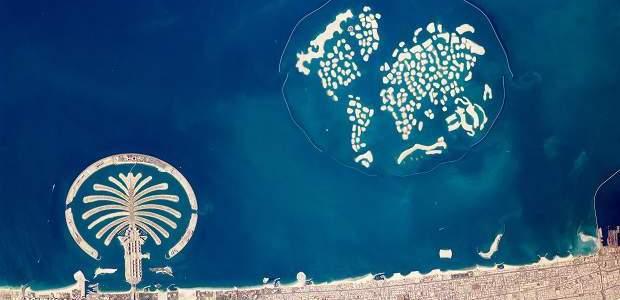 Ilhas artificiais de Dubai!