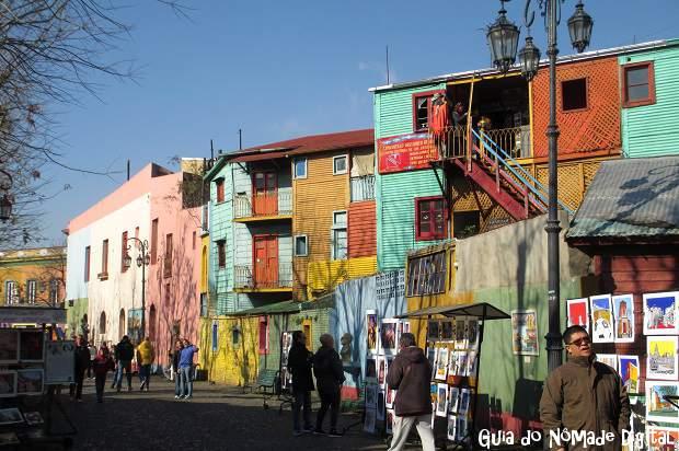 Caminito, a atração mais turística de Buenos Aires!