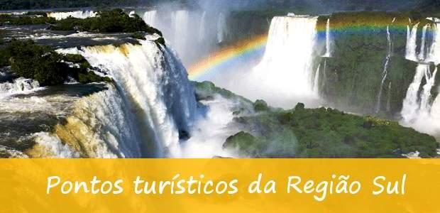 Pontos turísticos da Região Sul: os 10 mais bonitos!