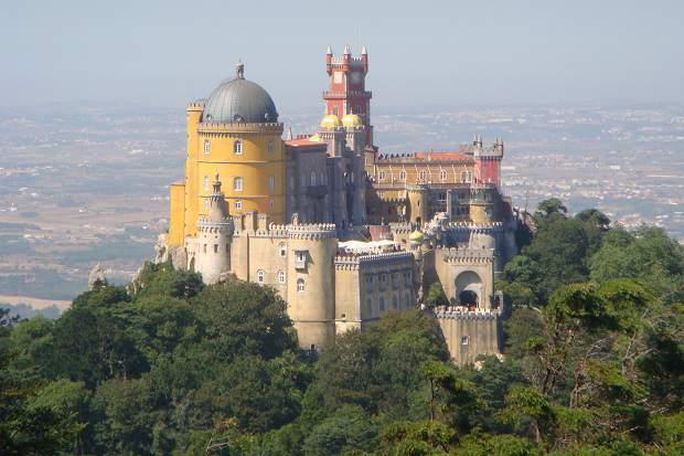 Palácio da Pena em Sintra, Portugal!