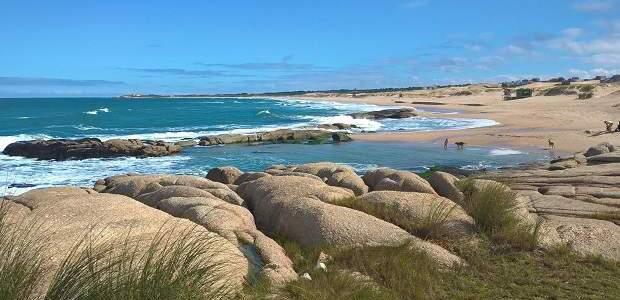 Balneário de Punta del Diablo, no Uruguai