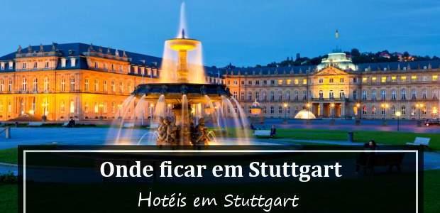 Onde ficar em Stuttgart, Alemanha: Hotéis em Stuttgart