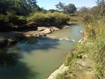 Ribeirão Santo Antônio - Tentos Transversais