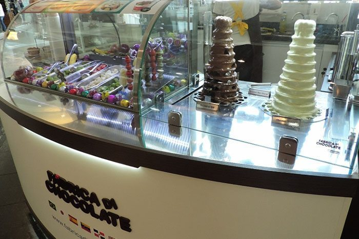 Franquia Fábrica di Chocolate shopping palladium