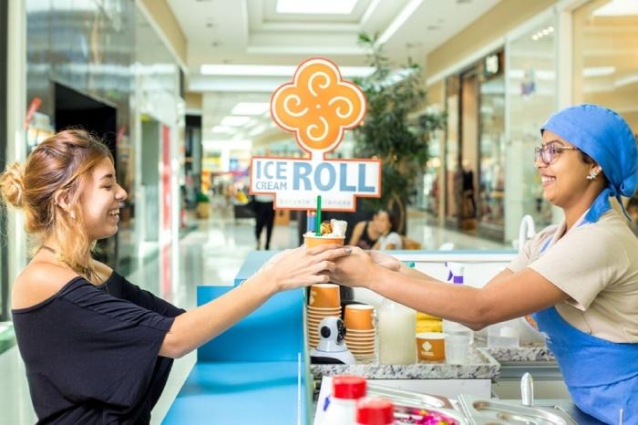franquia ice cream roll
