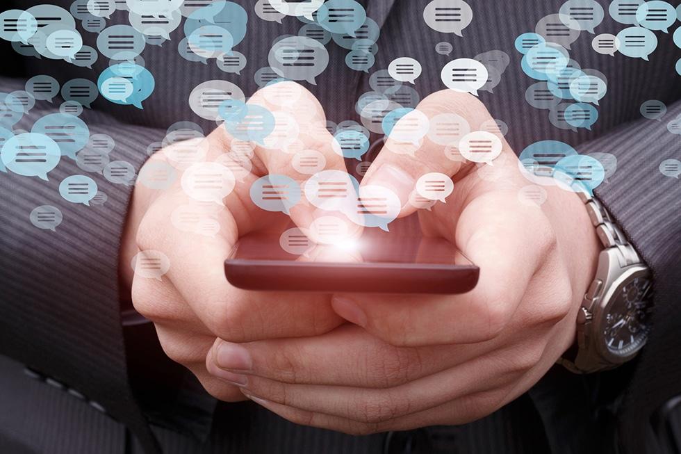 comunicação instantânea e mobile