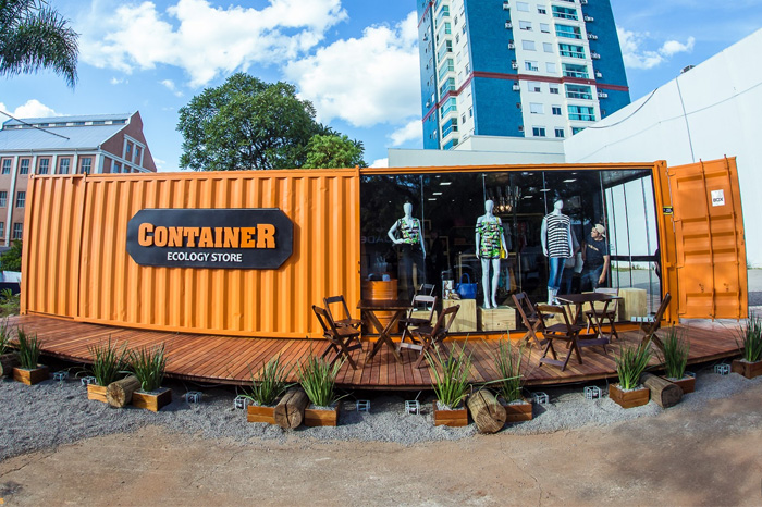 franquia Container Ecology Store