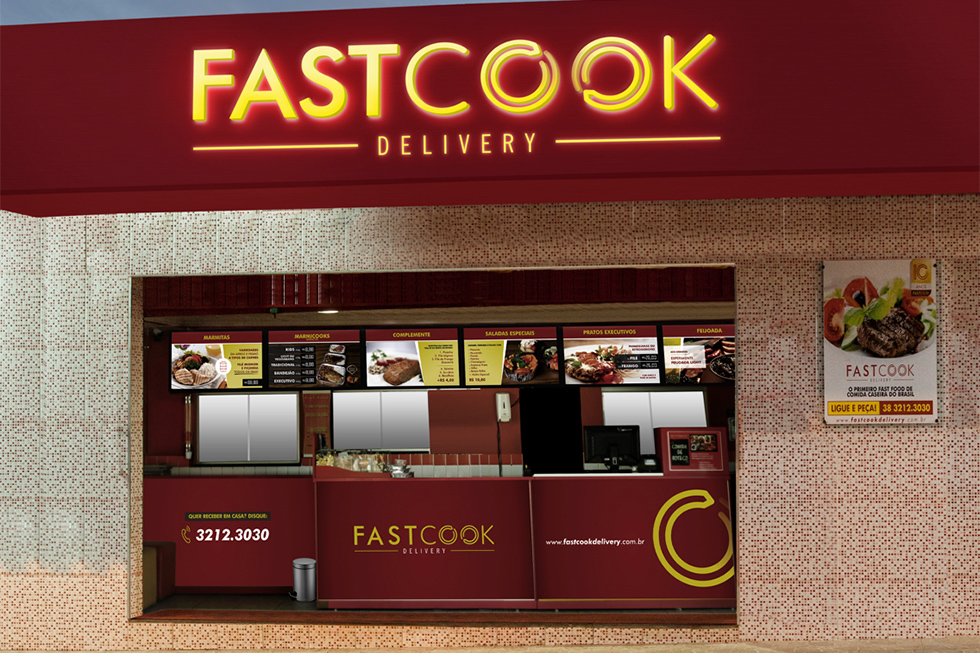 franquia fastcook delivery
