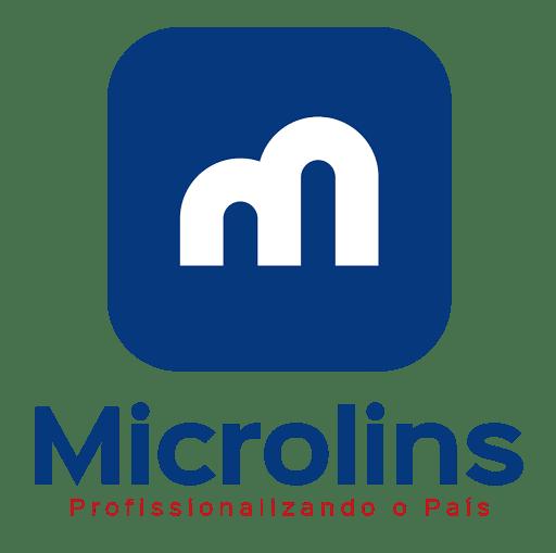 Logo Microlins - vertical
