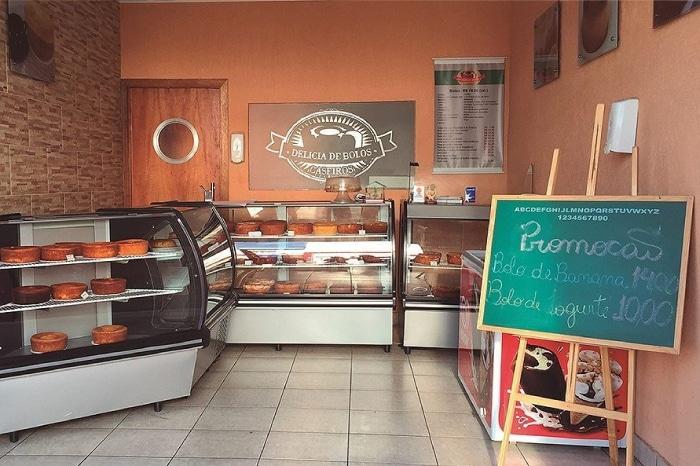 franquia delícia de bolos caseiros