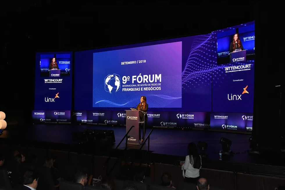 fórum internacional de gestão de redes de franquias e negócios