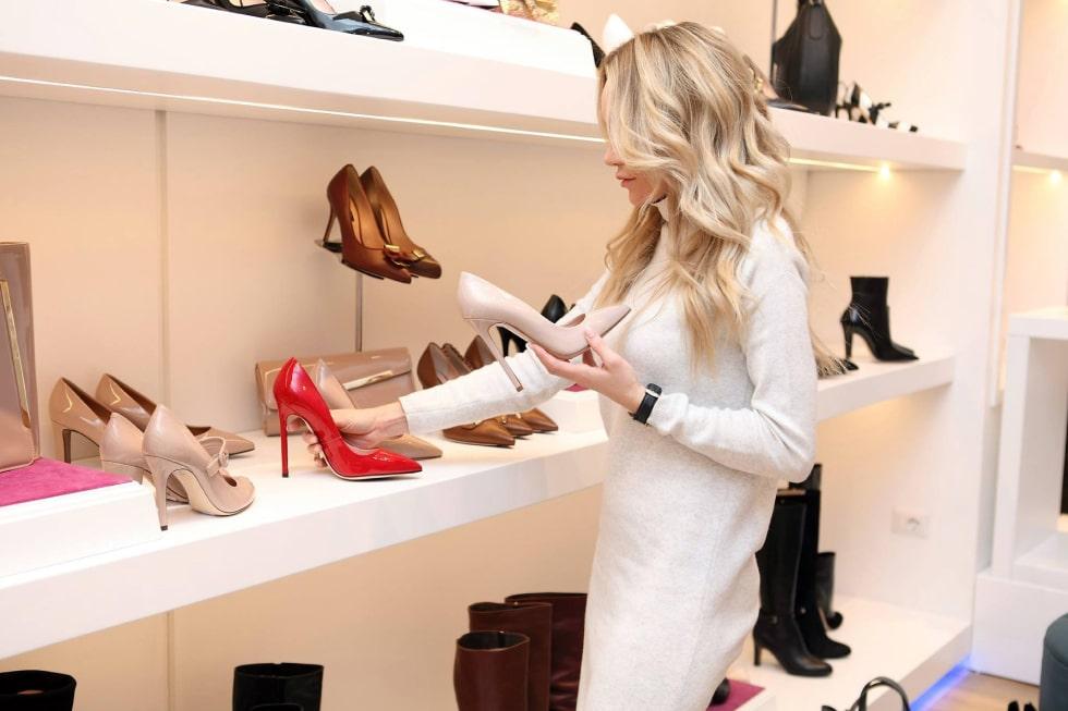franquias de sapatos femininos
